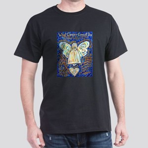 Blue & Gold Cancer Angel T-Shirt