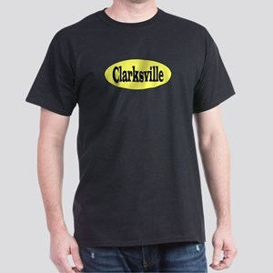 Clarksville, Tennessee Black T-Shirt