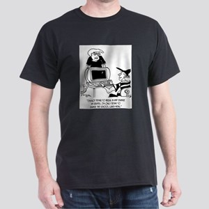 Hacking into School Menu Dark T-Shirt