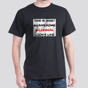 awesome millennial Dark T-Shirt