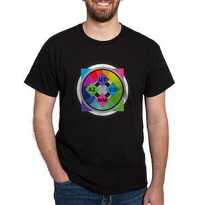 614c91a056f1 Four Corners T-Shirts - CafePress