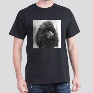 Black or Chocolate Poodle Dark T-Shirt