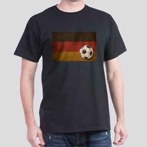 Vintage Germany Football Dark T-Shirt