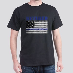 Thin Blue Line Retired T-Shirt
