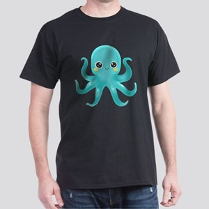 Blue Octopus T-Shirt