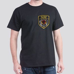Detroit PD Narcotics Black T-Shirt