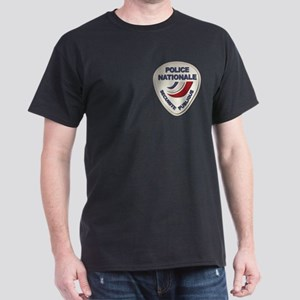 Police Nationale France Police withou Dark T-Shirt