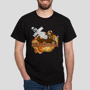 MacGyver In Action Dark T-Shirt