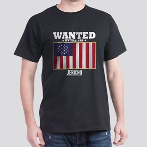 Jericho: Wanted By The A.S.A. Dark T-Shirt