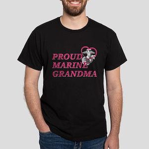 Proud Marine Grandma T-Shirt