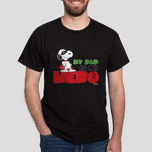 Peanuts: Dad Hero Dark T-Shirt