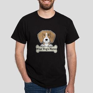 Personalized Beagle Dark T-Shirt