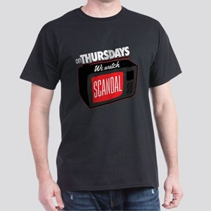 Scandal On Thursdays Dark T-Shirt