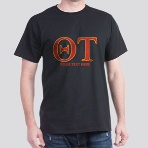 Theta Tau Personalized Dark T-Shirt