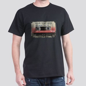 GOTG Personalized Cassette Dark T-Shirt