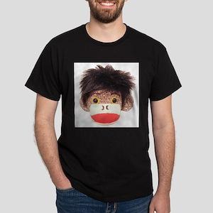 Sock Monkey Tommy White T-Shirt