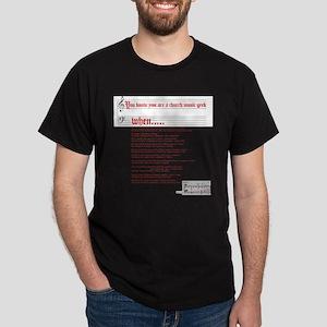 Church Music Geek T-Shirt