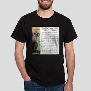 Chocolate Lab Rules T-Shirt
