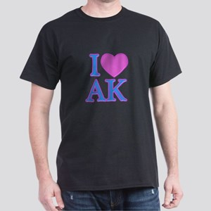 I Love AK Dark T-Shirt