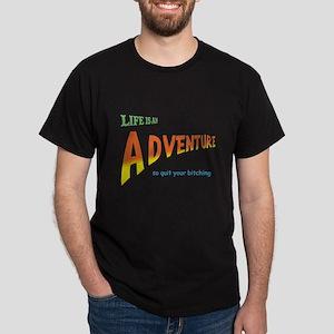 Life Is An Adventure Dark T-Shirt