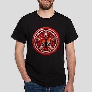 Pentacle of the Red Goddess Dark T-Shirt