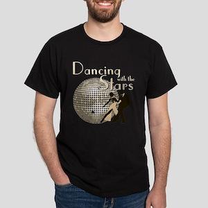 Retro Dancing with the Stars Dark T-Shirt