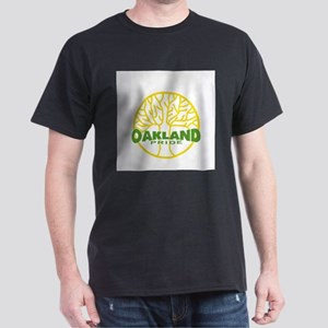 Oakland Pride Tree Dark (www. Dark T-Shirt