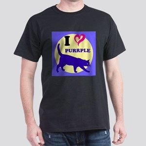Purrple Dark T-Shirt
