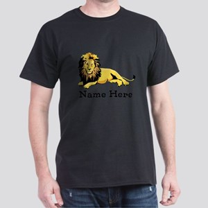 Personalized Lion Dark T-Shirt