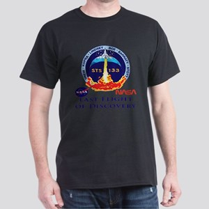 Last Flight of Discovery Dark T-Shirt