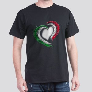 Italian Heart Dark T-Shirt