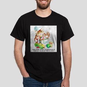 Cajun Chef Cat Ash Grey T-Shirt