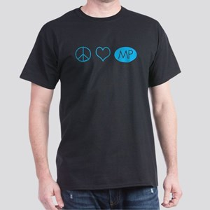 Peace Love Melrose Place Dark T-Shirt