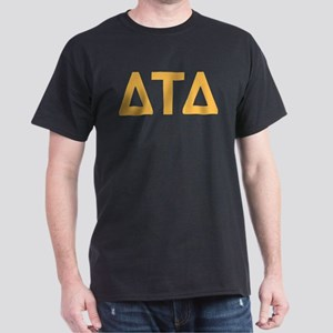 Delta Tau Delta Letters Dark T-Shirt