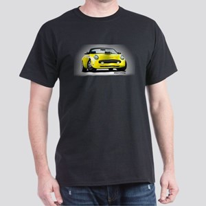 2002 05 Ford Thunderbird yellow Dark T-Shirt