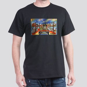 Spokane Washington Greetings T-Shirt