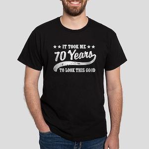 Funny 70th Birthday Dark T-Shirt