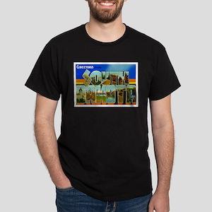South Dakota SD Dark T-Shirt