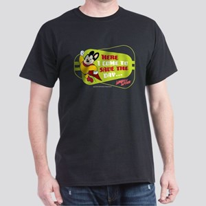 Mighty Mouse: Save The Day Dark T-Shirt
