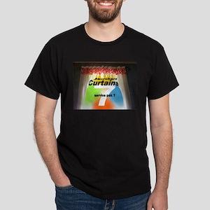 Curtains 7 service pak Dark T-Shirt