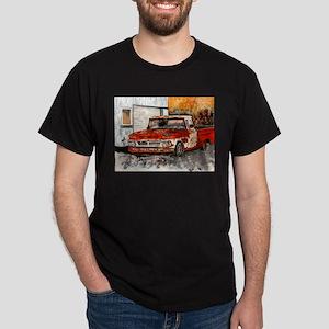 old pickup truck vintage anti Dark T-Shirt