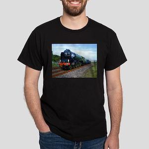 Flying Scotsman - Steam Train Dark T-Shirt