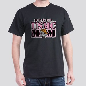 Proud USMC Mom Dark T-Shirt