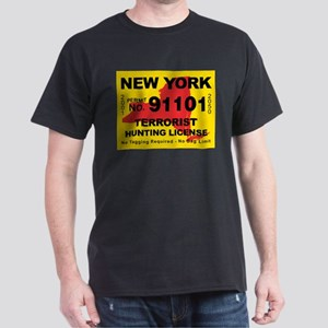 New York Terrorist Hunting Li Dark T-Shirt