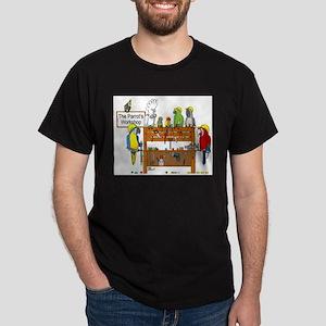 The Parrot's Workshop Logo Dark T-Shirt