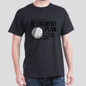 Golf Retirement Plan T-Shirt