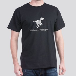 velociraptor funny science T-Shirt