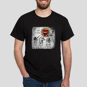 Flaming Heart - Dark T-Shirt