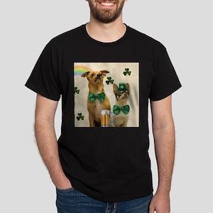 St. Patricks Day Chihuahuas T-Shirt