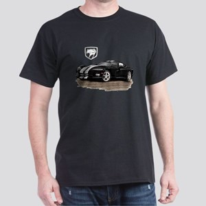 Viper Black/White Car Dark T-Shirt